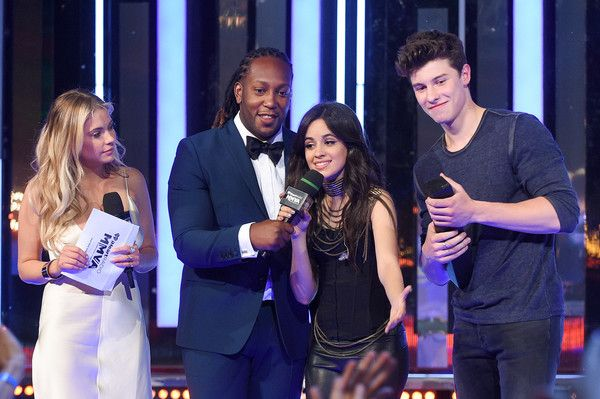 Shawn Mendes Photos - Ashley Benson, Tyrone Edwards, Camila Cabello and Shawn Mendes at the 2016 iHeartRADIO MuchMusic Video Awards at MuchMusic HQ on June 19, 2016 in Toronto, Canada. - 2016 MuchMusic Video Awards - Show
