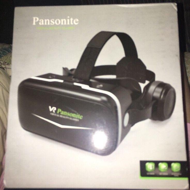 Pansonite 3D VR Headset Virtual Reality Glasses 360 Panoramic SC-G04E New  | eBay