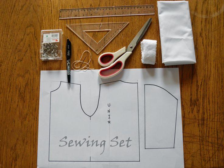 Sewing Set: TUTORIAL CAMISA DE RECIÉN NACIDO                                                                                                                                                                                 Más