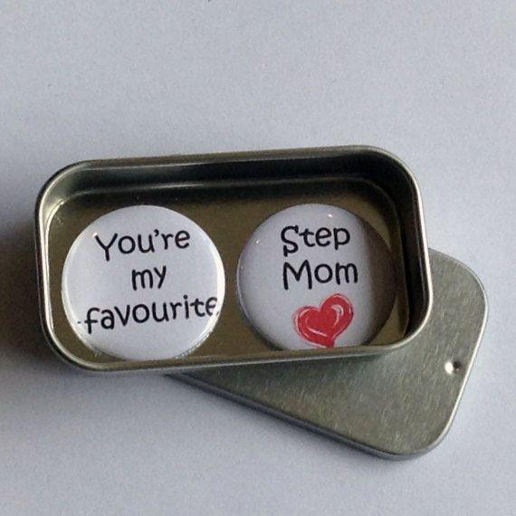 Mum Mom Step-Mom Favourite Step Mom Mothers Day Birthday