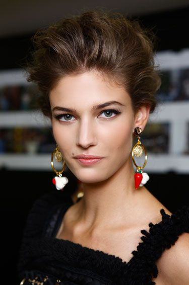 Make-up inspired by Dolce & Gabbana