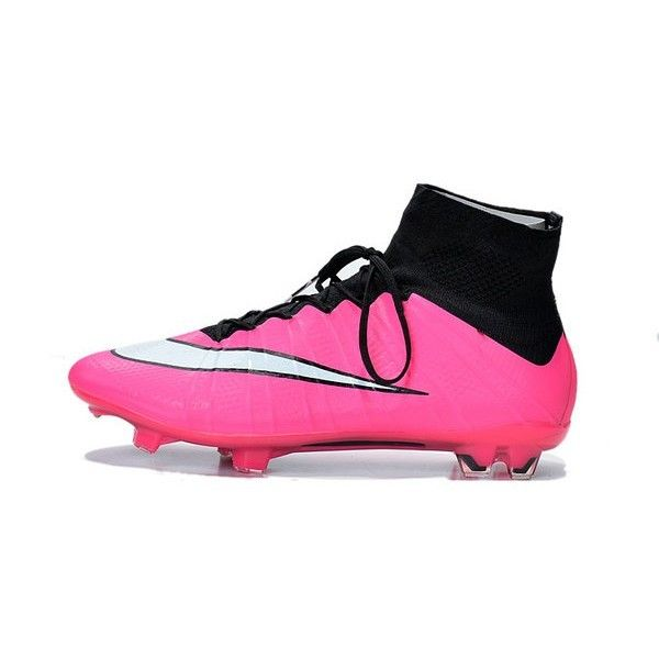 2015 Nike Mercurial Superfly Mens Firm-Ground Soccer Cleats Black Pink White