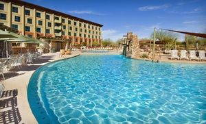 This 4-star resort in Scottsdale has a 24-hour casino, a pool and hot tubs, a wide range of dining options, and a nearby golf course