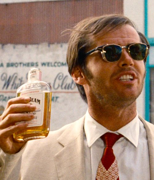 Jack Nicholson Sunglasses February 2017