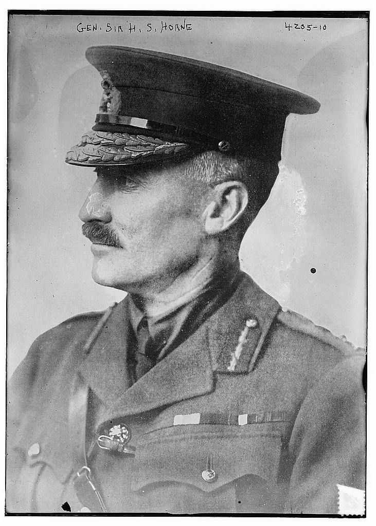 General Henry Sinclair Horne, 1st Baron Horne GCB, KCMG (19 February 1861 – 14 August 1929) was a military officer in the British Army, most notable for his generalship during World War I. He was the only British artillery officer to command an army in the war.