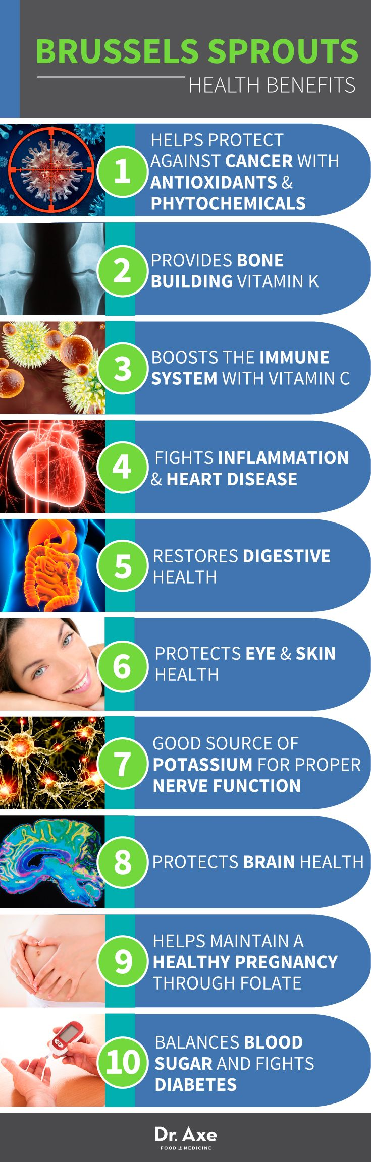 Brussels Sprouts Benefits  http://www.draxe.com #health #holistic #natural
