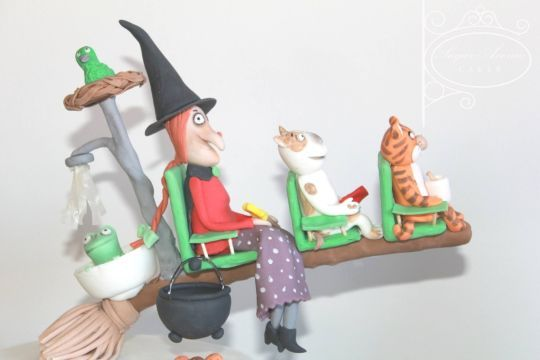 Room on the broom - CakesDecor