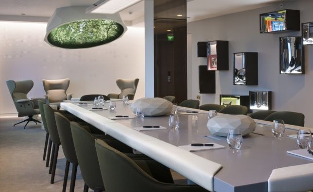 """#pullman new concept """"""""business playground"""" meeting rooms"""