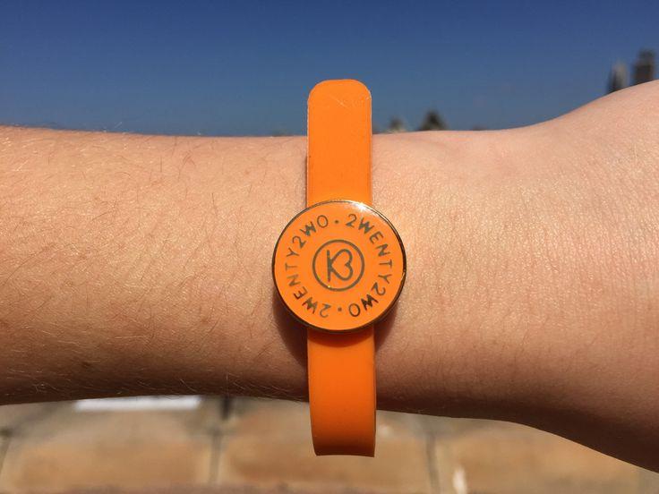 22 Sydney jewelry burnt orange bracelet