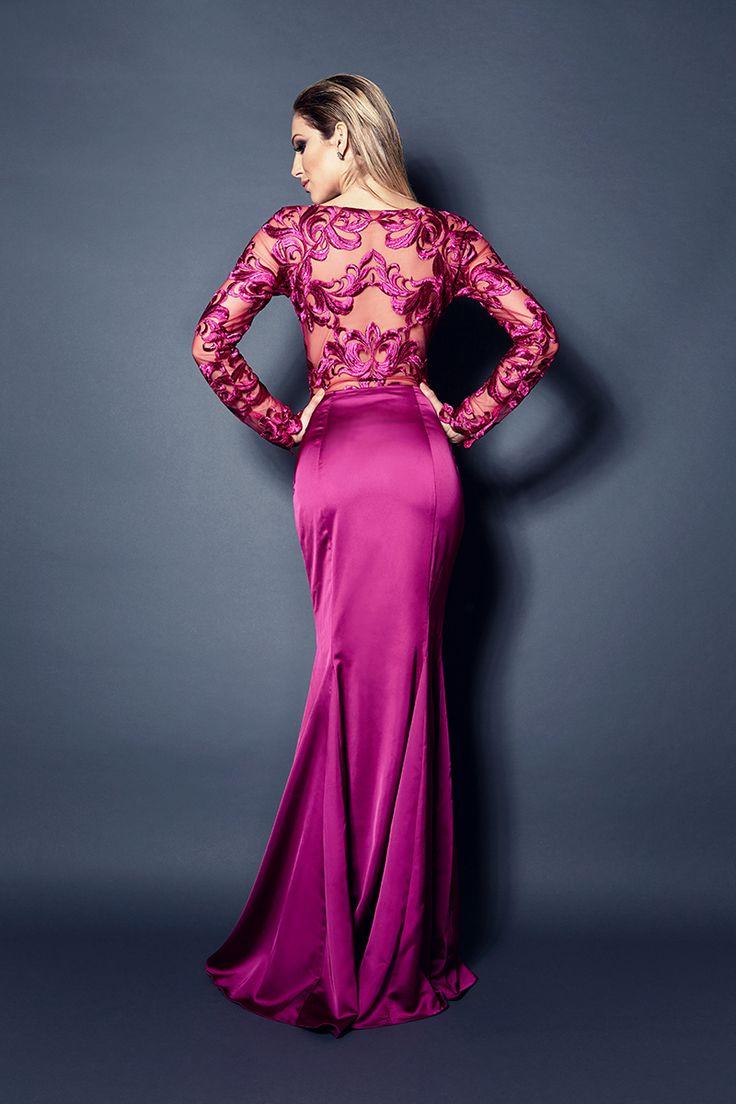 127 best vestido de festa images on Pinterest | Evening dresses ...