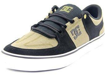 DC Lynx Vulc Se Men Round Toe Suede Skate Shoe.