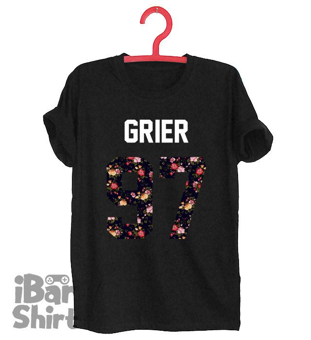 NASH GRIER 97 shirts number date of birthday  Blogger Tumblr T-shirt Unisex Men Women Tshirts Size S/M/L/XL/2XL by iBarGameShirt on Etsy