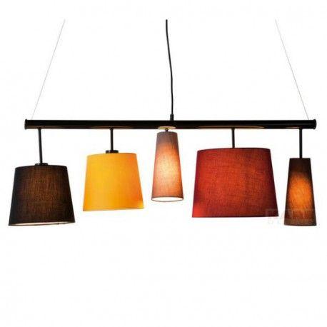 Kare Design - Suspension Parecchi Colore - Abat-jour multicouleur