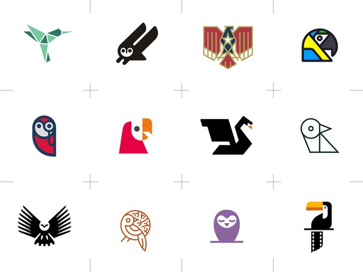 Bird-themed Logos by Type08 (Alen Pavlovic)