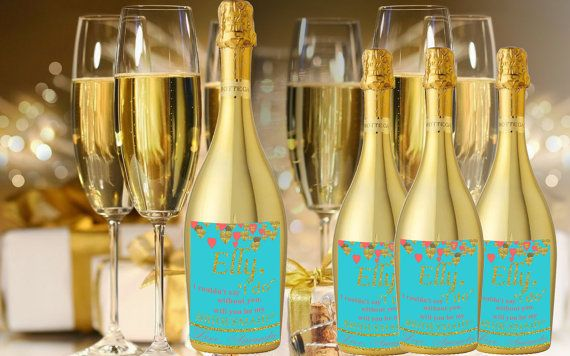 Check out this item in my Etsy shop https://www.etsy.com/listing/288639873/champagne-labels-for-bridesmaids-will