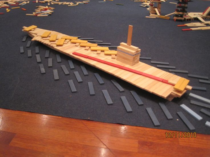 Calling all KAPLA ship builders to top this one #kids #school #parents # homeschool #K12 #blocks # toys #holidays