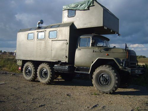 Expedition Motorhome Camper truck off road 6x6 Zil131