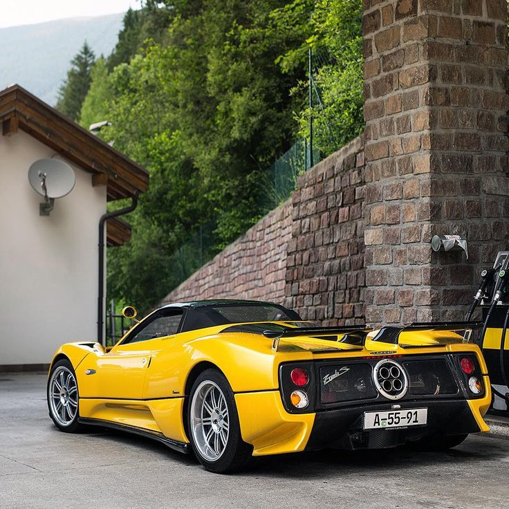 25+ Best Ideas About Pagani Zonda On Pinterest