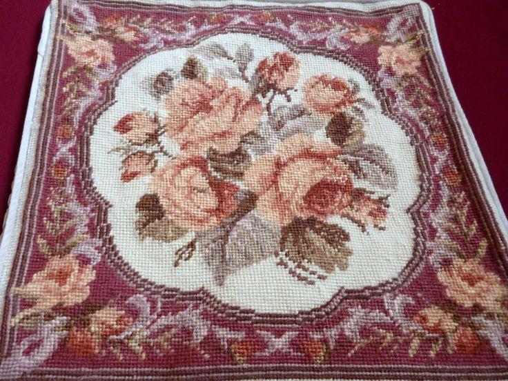 ♥.•:*´¨`*:•♥  Bordado Florais Clássico em Ponto Cruz -  /   ♥.•:*´¨`*:•♥ Classic Floral Embroidery Cross Stitch -