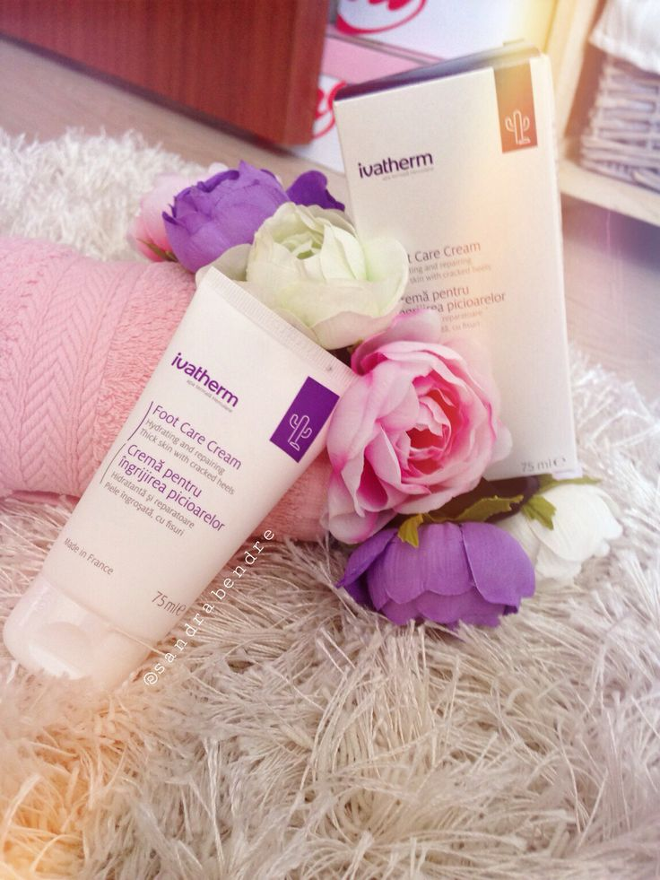 Foot care cream from @Ivatherm