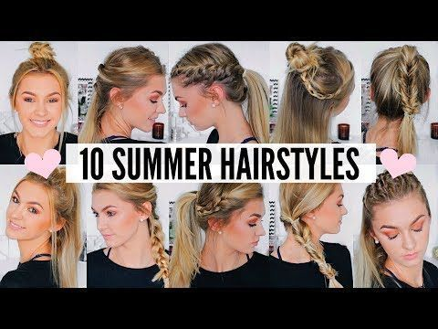 10 EASY Lazy Girl Hairstyle Ideas Step By Step Video Tutorials For Lazy Day Running Late Quick Hairstyles