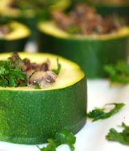 Stuffed Zucchini Cups   Favorite Recipes   Pinterest   Zucchini Cups ...