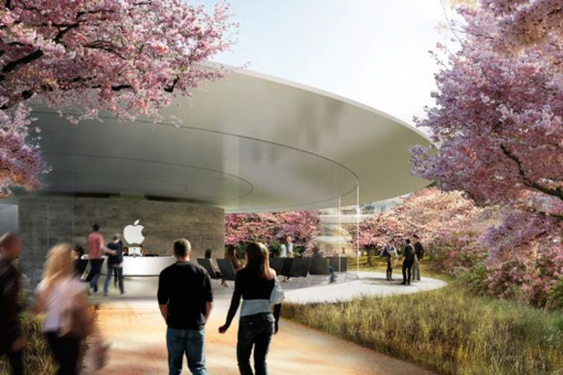New renders of Apple's future campus offer glimpse of life at the spaceship