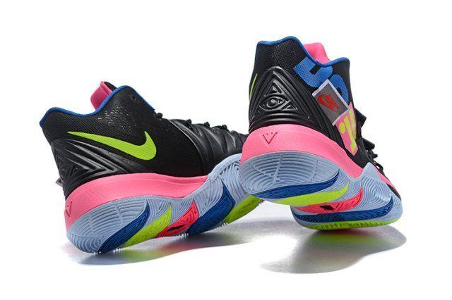 Nike Kyrie 5 Black Pink Multi-Color Men