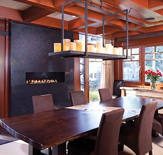 27 Best Dining Room Fireplace Images On Pinterest