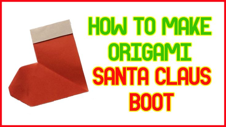 96 best easy origami tutorials images on pinterest easy for Make origami santa claus