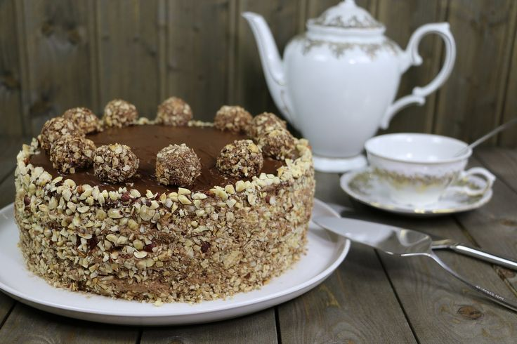 "Торт ""Ферреро Роше"" (Ferrero Rocher Cake )"