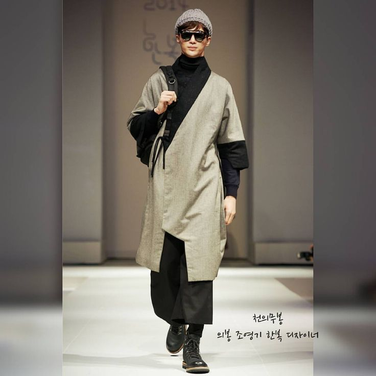 Korean hanbok designer Cho Young-ki.