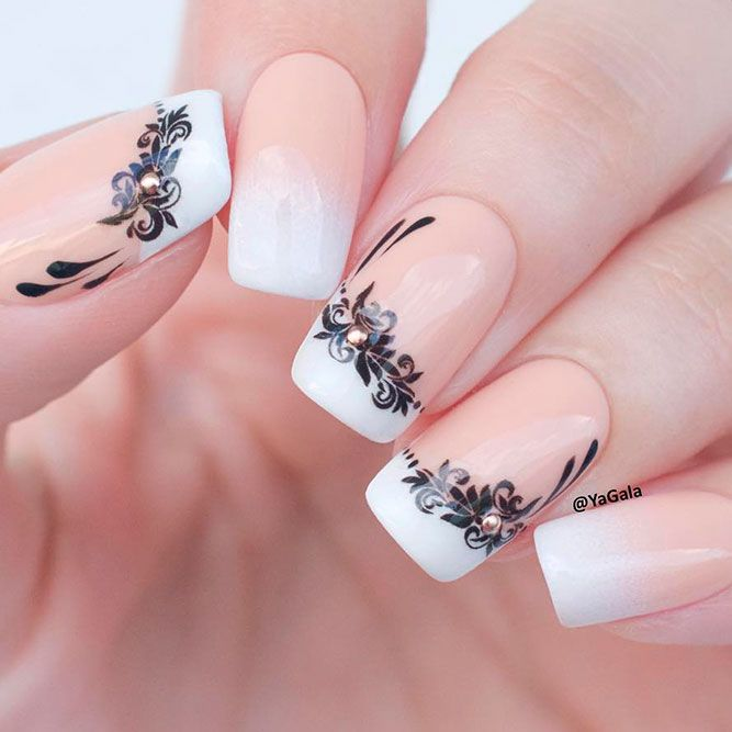 35 Terrific Nude Nail Design Ideas You Can't Pass By