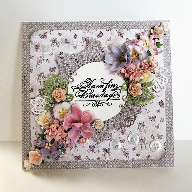 Ha en fin bursdag - Merete Kildahl Jaklin - Stempelglede :: Design Team Blog