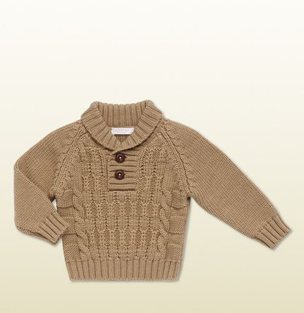 Gucci Baby Boy Sweater  I want this for my son!