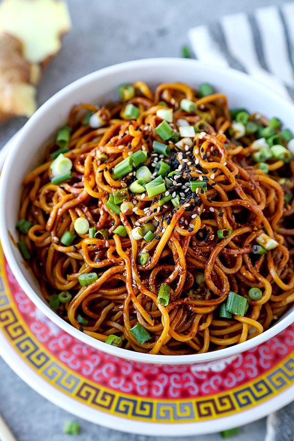 Aromatic Sour Egg Noodles Recipe Healthy Noodle Recipes Easy