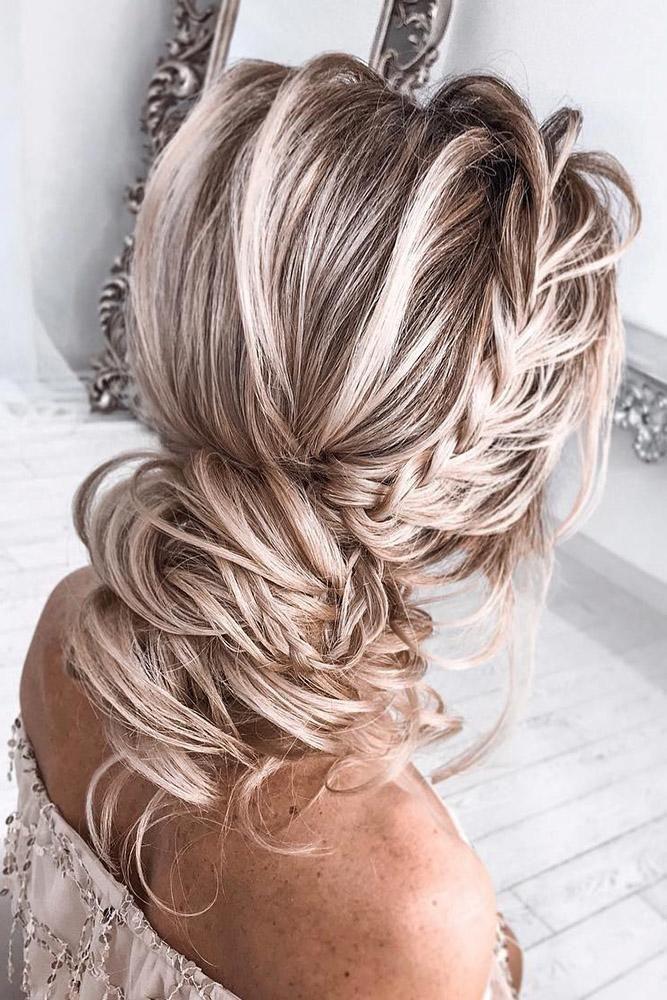 30 Bridesmaid Updos - Elegant And Chic Hairstyles | Wedding Forward
