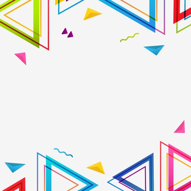 Abstract Colorful Geometric Shapes Background Background