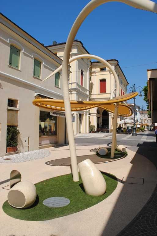 Linea BIOS by Arch. #LuisaFontana. #Bellitalia customized street furniture