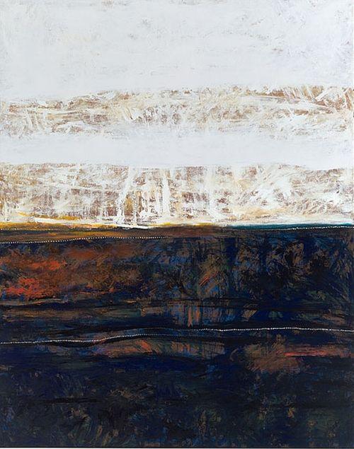 Meeyakba Shane Pickett: Landscape with a morning touch of Wanyarang 2006