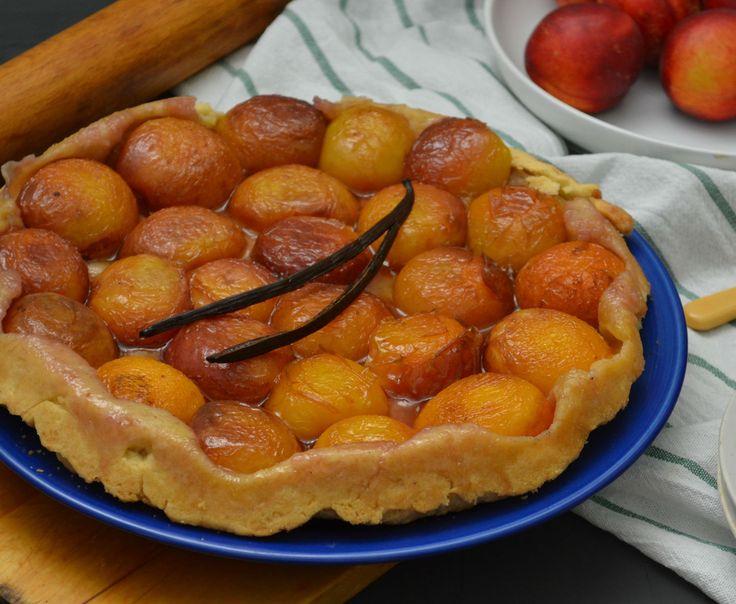 Puha barackos fordított süti - Isteni, ahogy a gyümölcs megkaramellizálódik