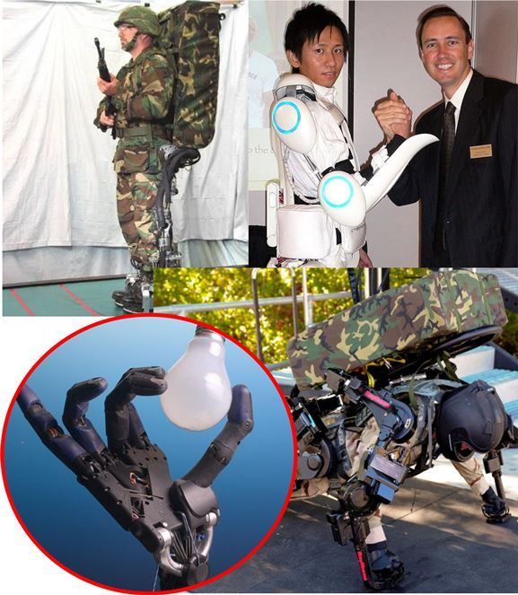 Gambar Teknologi Canggih - Military exoskeleton prototype