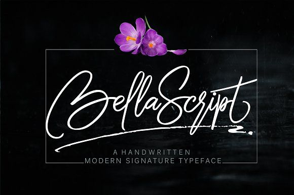 bella script + swash by joelmaker on @creativemarket