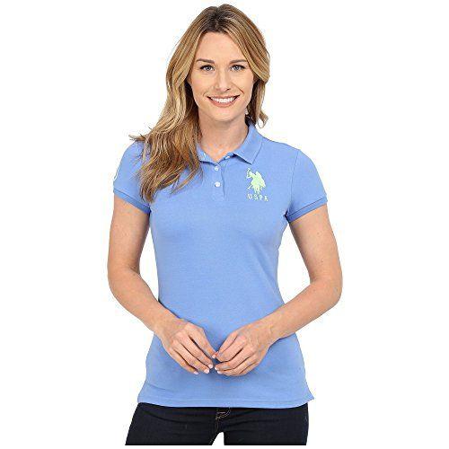 (ユーエスポロアッスン) U.S. POLO ASSN. レディース トップス ポロシャツ Neon Logos Short Sleeve Polo Shirt 並行輸入品  新品【取り寄せ商品のため、お届けまでに2週間前後かかります。】 表示サイズ表はすべて【参考サイズ】です。ご不明点はお問合せ下さい。 カラー:Ultramarine Blue 詳細は http://brand-tsuhan.com/product/%e3%83%a6%e3%83%bc%e3%82%a8%e3%82%b9%e3%83%9d%e3%83%ad%e3%82%a2%e3%83%83%e3%82%b9%e3%83%b3-u-s-polo-assn-%e3%83%ac%e3%83%87%e3%82%a3%e3%83%bc%e3%82%b9-%e3%83%88%e3%83%83%e3%83%97%e3%82%b9-2/