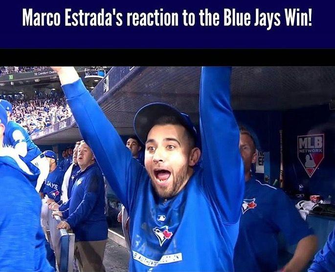 Toronto Blue Jays: Marco Estrada. Sheer happiness!!