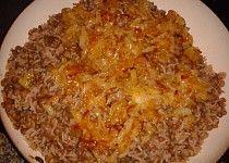 Libanonská kuchyně - Čočka s rýží