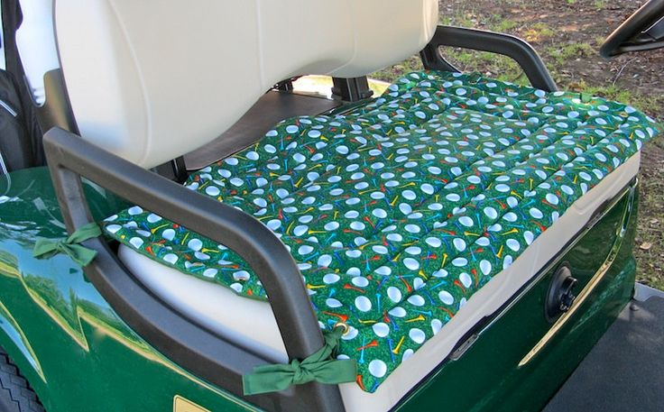 Golf Cart Seat Cover. $36.50, via Etsy.
