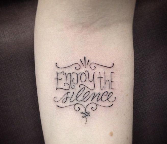 Inspiração: 26 tipografias para tattoos escritas | Estilo