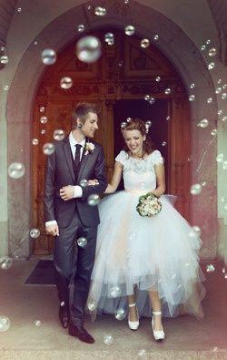 Bubbles instead of petals