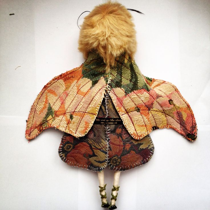 New dolls are a comin. Moth Girl. Copyright Lucy Brasher the cat in the shoe 2014